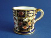 Royal Crown Derby 'Traditional Imari' Pattern 2451 Miniature Tankard c1903